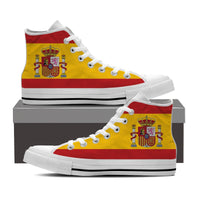 WOMEN'S SPAIN HIGH-TOP SHOES (WHITE) - FREE SHIPPING WORLDWIDE