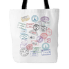 Passport Stamp - Tote Bag