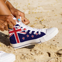 WOMEN'S NEW ZEALAND HIGH-TOP SHOES (WHITE) - FREE SHIPPING WORLDWIDE