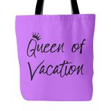 Queen of Vacation Tote Bag
