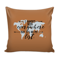 It's On My List - Pillow Cover 16""