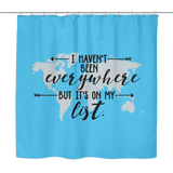 It's On My List - Shower Curtain