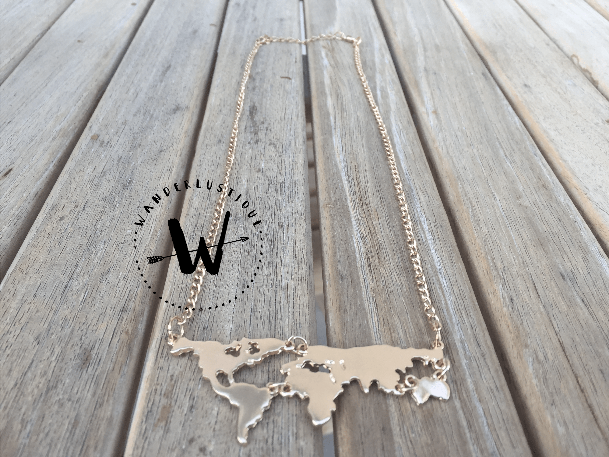 Premium flat world map necklace available in 3 different colors premium flat world map necklace available in 3 different colors free shipping worldwide gumiabroncs Images