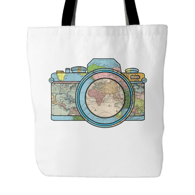 Capture The World On Camera - Tote Bag