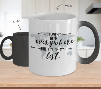 It's On My List! - Color Changing Coffee Mug