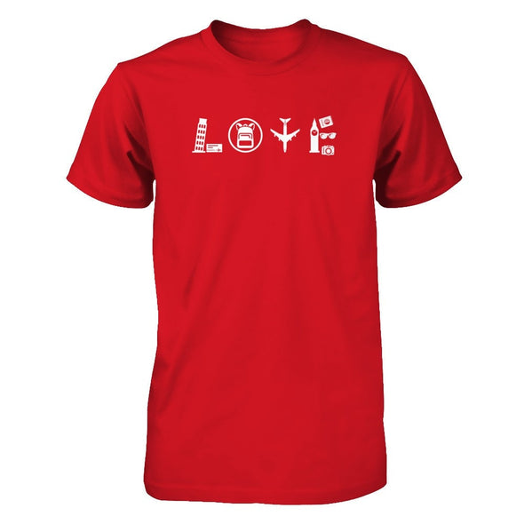 LOVE TRAVEL [WHITE] (DIFFERENT COLORS AVAILABLE)