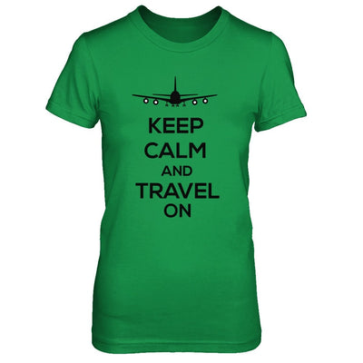 Keep Calm and Travel On (DIFFERENT STYLES AVAILABLE)