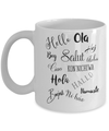 """Hello"" World Coffee Mug (11oz)"