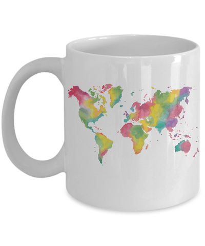 Colorful World Coffee Mug (11oz)