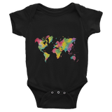 Colorful World Infant short sleeve one-piece