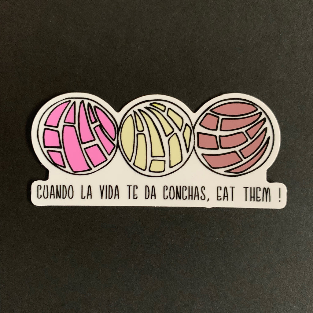 Concha Sticker