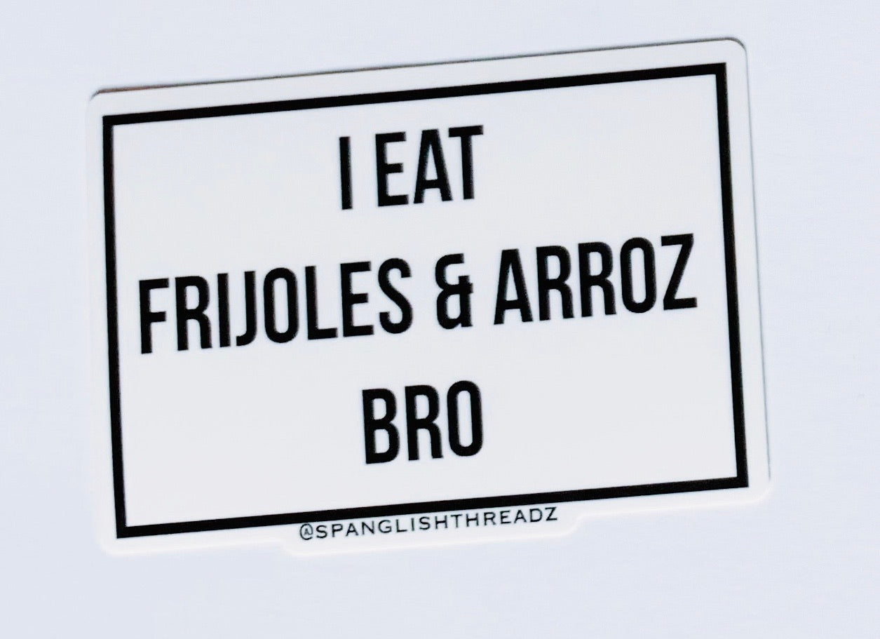 frijoles and arroz sticker