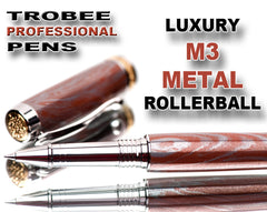 Luxury M3 metal pen rollerball high end writing gift idea