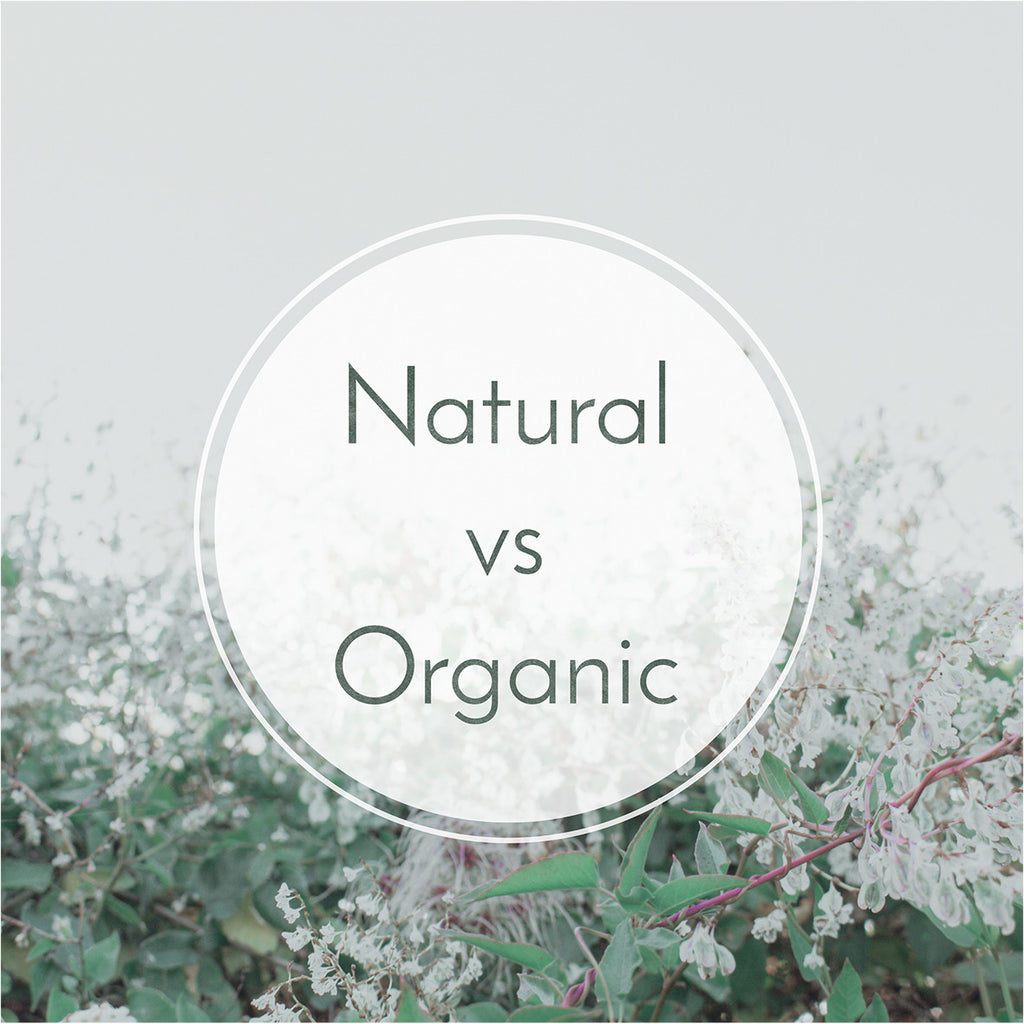 What Is the difference between natural and organic?