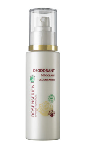 deodorant spray - mild rose scent 100ml