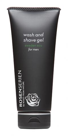 wash and shave gel for men 100ml