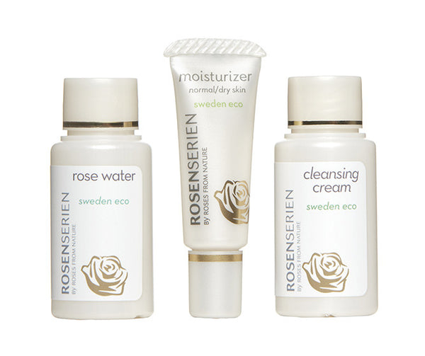 face mini kit - rose water, moisturiser & cleansing cream