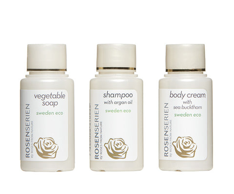 body mini kit - vegetable soap, shampoo & body cream