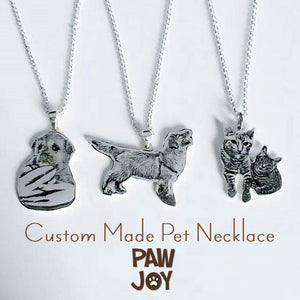 Personalized Dog Necklace (Your Dog's Photo on a Necklace)