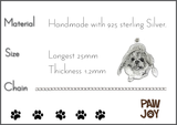Personalized Cat Necklace (Your Cat's Photo on a Necklace)