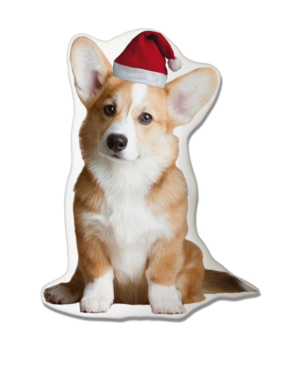 Pembroke Welsh Corgi Christmas Pillow