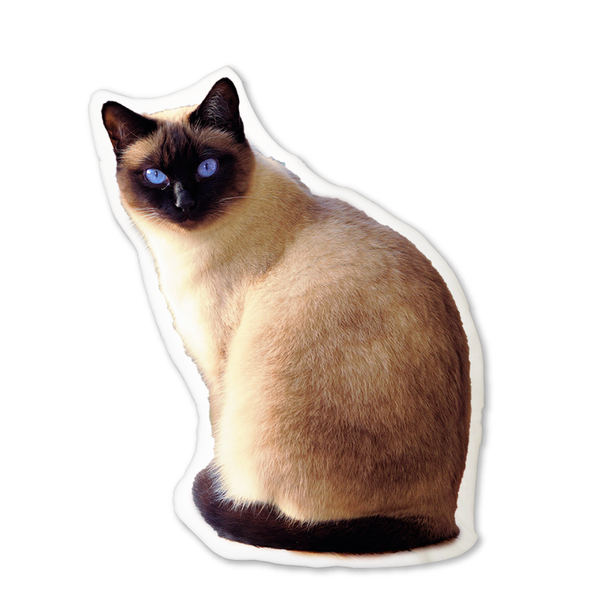 Personalized Cat Picture Pillow With Your Cat Photo On It