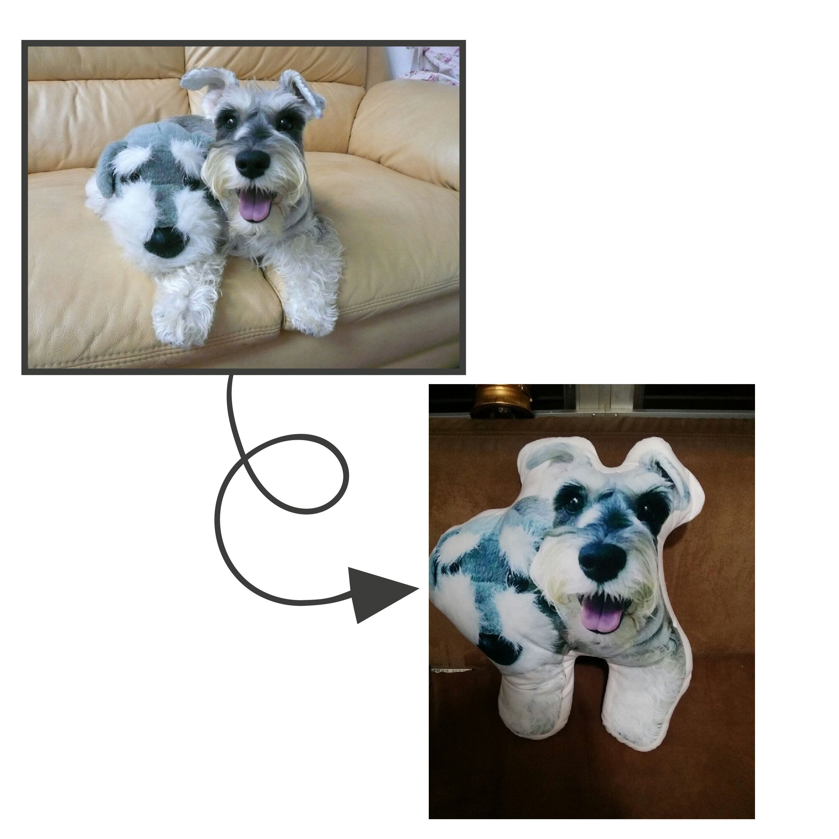Personalized Dog Picture Pillow With Your Dog S Picture