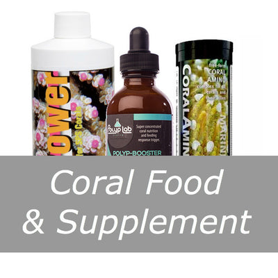 Coral Food & Supplement