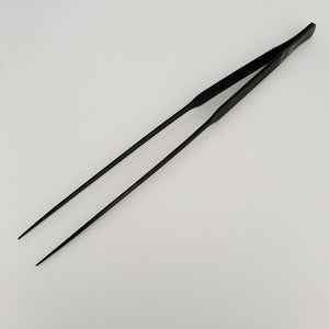 BSFH stainless steel black anodized tweezer