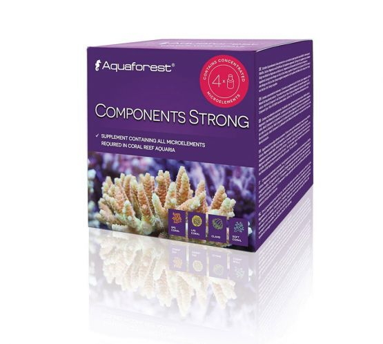 AquaForest Components Strong, 4 x 75ml