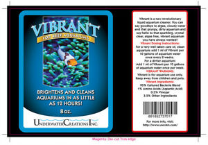 Vibrant For Reef Aquariums , 16 oz.