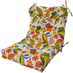 Greendale Home Fashions Indoor Outdoor Seat Back Chair Cushion