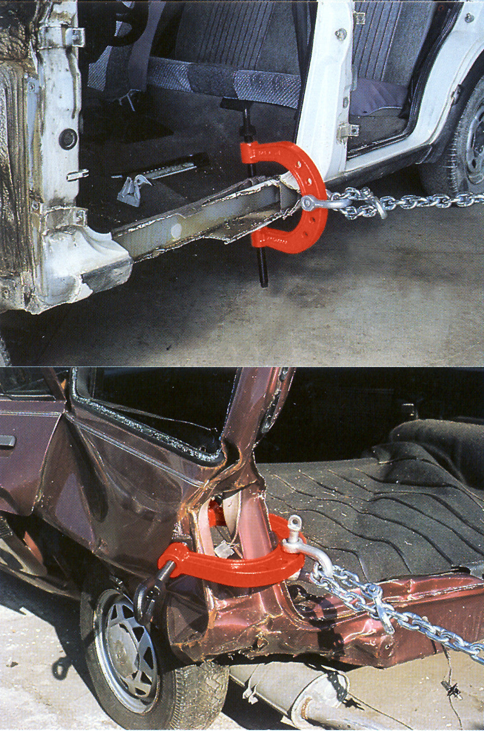 "B-150 - Large ""U"" Pull Clamp"