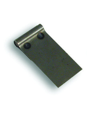 D-157A - Weld on Aluminum Plate 80 x 25mm (5 pc)