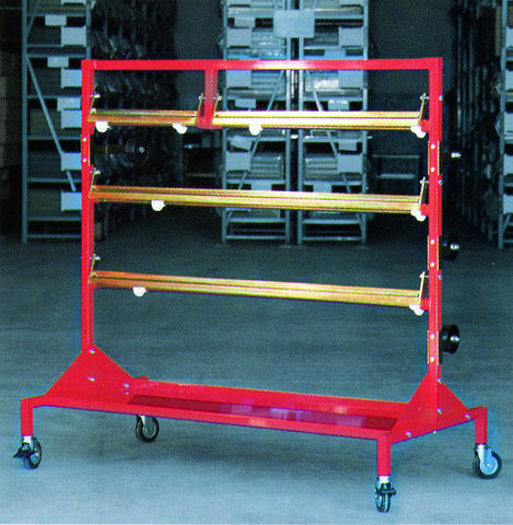 C-670 - Spot Power Welder Trolley - Power Spot Welder Cart w/ Accessories