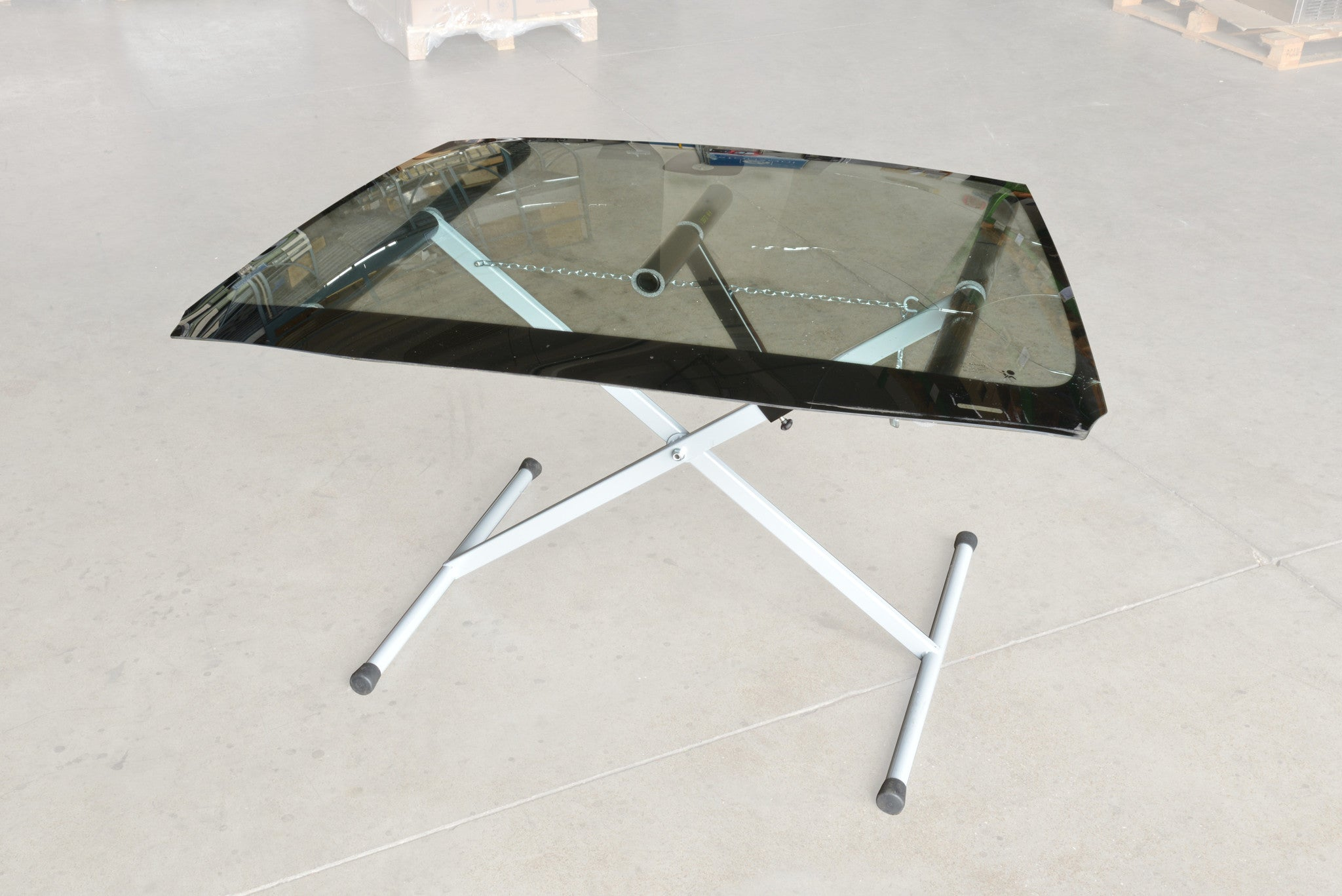 B-124V - Terence / Panel Rest for Glass with Rubber Protection