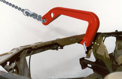 B-140 - Pinza - Pull Clamp with Deep Groove