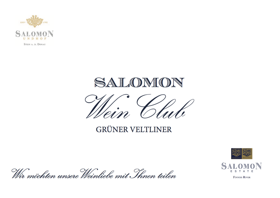 GRUENER VELTLINER - SHOP Salomon Undhof & Salomon Estate