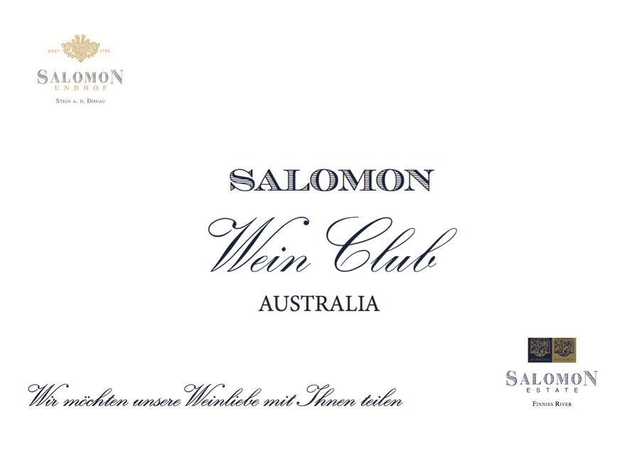 AUSTRALIEN - SHOP Salomon Undhof & Salomon Estate