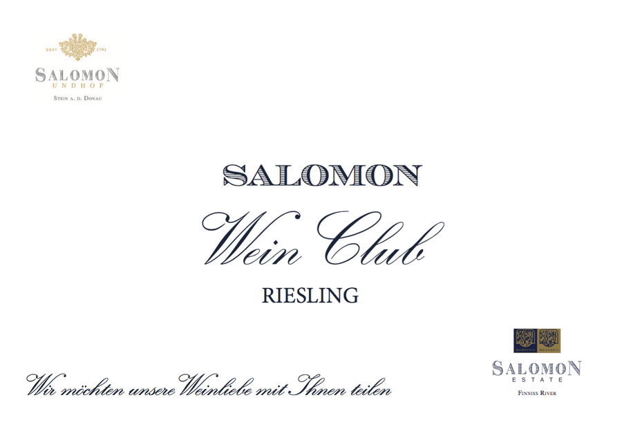 RIESLING - SHOP Salomon Undhof & Salomon Estate