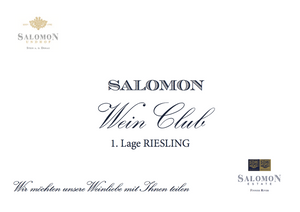 1. Lage RIESLING - SHOP Salomon Undhof & Salomon Estate