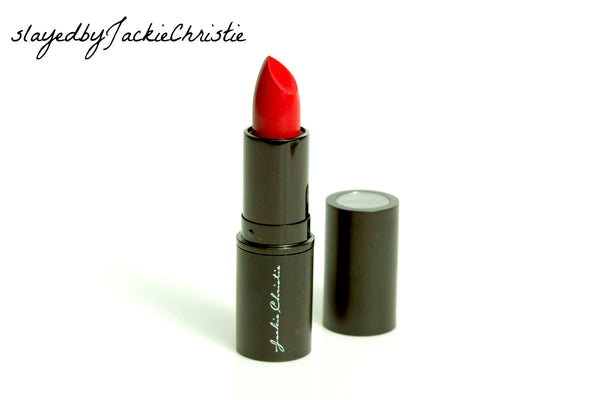 Slayed by Jackie Christie Matte Winter Red Lip Stick