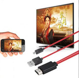 2M Micro USB to HDMI MHL Cable HDMI Adapter Converter Android Samsung Phone