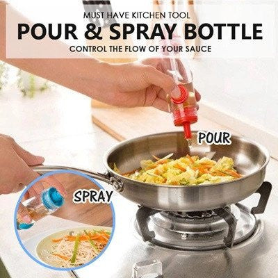 Pour and Spray 2 Way Sauce Bottle