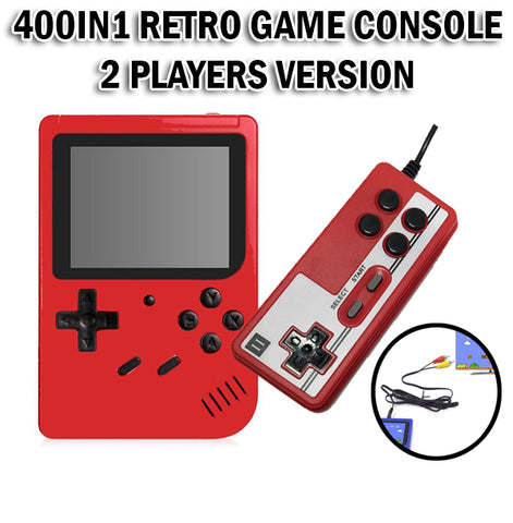 400in1 Retro Handheld Game Console 2 Players Version Station Pocket System PLUS GB-40