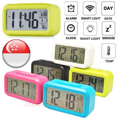 Smart Digital Alarm Clock 2nd Gen