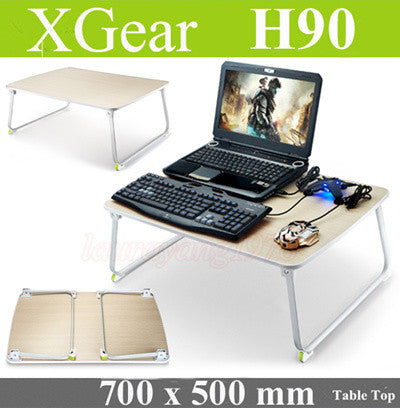 Xgear H90 Foldable Laptop Table [ Size: 700 x 500 mm ]