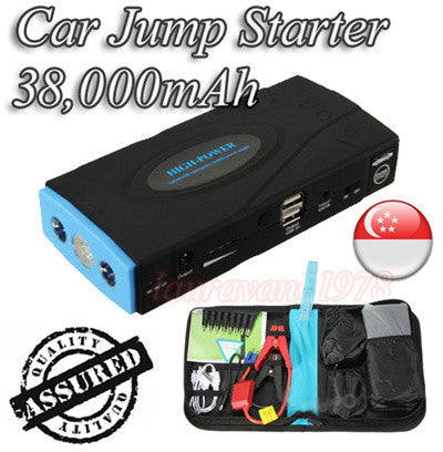 38000mAh Multi-Function Car Jump Starter Power Bank