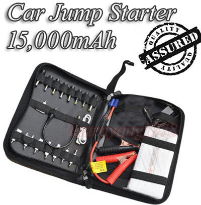 15000mAh Multi-Function Car Jump Starter Power Bank