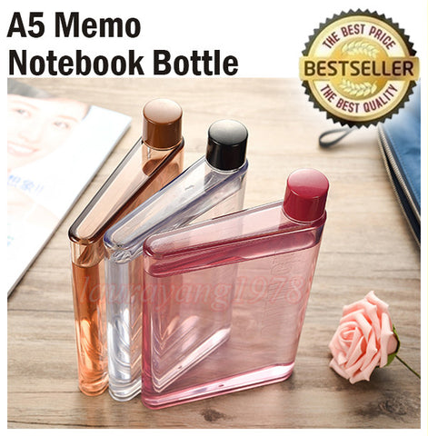 A5 Notebook Flat Bottle 420ml